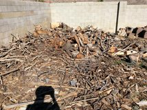oak firewood in Yucca Valley, California