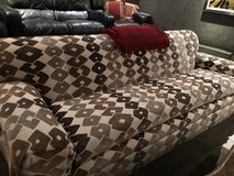 Sofa custom made 8' - Moving must sell in Kingwood, Texas