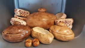 Vintage Potato Serving Dishes in Yucca Valley, California