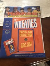 New Wheaties Picture Frame Cereal Box  - Add your own Picture in Glendale Heights, Illinois
