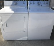Maytag washer and gas dryer in Temecula, California