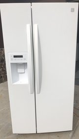 Kenmore white side by side refrigerator in Temecula, California