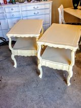 pair French country end tables /nightstand in Cherry Point, North Carolina