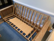 Oak Futon Frame - Full size in Bolling AFB, DC