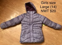 Girls winter jacket in Fort Drum, New York