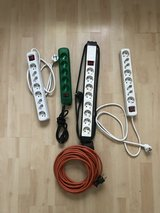 Power Strips, Plug changers, and extension cable in Wiesbaden, GE