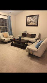Set of leather couch in Warner Robins, Georgia
