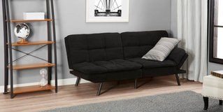 memory foam futon couch/bed in Beaufort, South Carolina