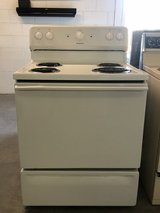 HotPoint White Electric Range in Beaufort, South Carolina