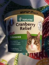 Naturvet Cranberry relief for cats in Warner Robins, Georgia