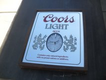 **  Coors Clock  ** in Yucca Valley, California