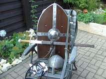 Medieval equipment for sports or customs-Replica in Ramstein, Germany