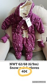 Nwt 62/68 (6-9m) snow suit in Ramstein, Germany