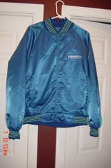 Mens Blue Retro Quilted Starter Jacket XL in Westmont, Illinois