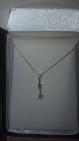 Women's beautiful 3 diamond necklace in Biloxi, Mississippi