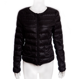 NEW Black Round Neck Puffer Jacket in Ramstein, Germany