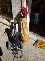 Used Golf Clubs with pull cart in Sandwich, Illinois