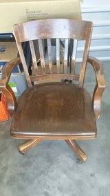 old library / bankers chair by johnson furniture company. in Vacaville, California