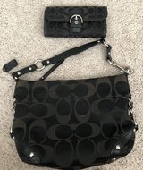 Authentic Coach Purse w/Wallet in Joliet, Illinois
