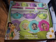 Disney tinkerbell and friends dinnerware in Plainfield, Illinois