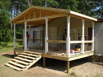 We Build Decks in Leesville, Louisiana
