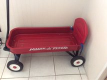 red wagon in Chicago, Illinois