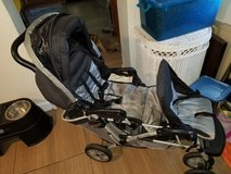 Double baby stroller in Mayport Naval Station, Florida