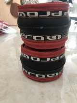 USED Michelin Pro4 tires (red/black) in Okinawa, Japan