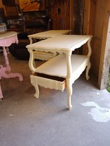 pair of french country night stands / end tables in Cherry Point, North Carolina
