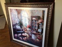 Piano wall art-vibrant, orig paid $200 in Plainfield, Illinois