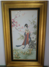 Japanese Geisha Painting in Houston, Texas