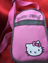 HELLO KITTY OVER SHOULDER PURSE WITH ACCESSORIES in Travis AFB, California