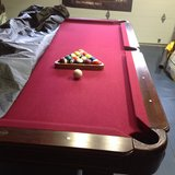 POOL TABLE - made by Sportcraft in Travis AFB, California
