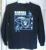 Youth 'Raiders' Long Sleeve Shirt Size 7/8 in Yucca Valley, California