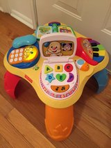 Fisher Price Learning Table in Warner Robins, Georgia
