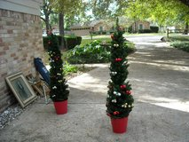 Set of 2 Christmas Trees in Conroe, Texas