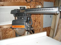 Craftsman 10 inch Radial Arm Saw with cabinet in Conroe, Texas