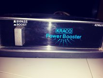 Kraco  40 watt car stereo power booster in Alamogordo, New Mexico