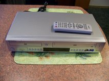 Samsung VCR - VHS DVD Progressive Scan - Multi Card Input & Remote in Bolingbrook, Illinois