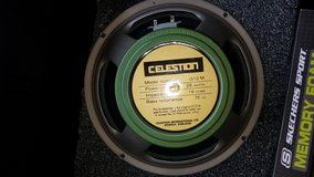 Celestion Greenbacks Excellent condition in Camp Lejeune, North Carolina