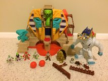 Serpent Strike Pyramid from Fisher Price and Imaginext in Sugar Grove, Illinois