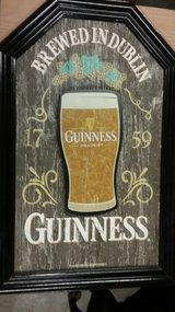 Guiness wall decor and string lites in Beaufort, South Carolina
