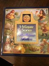Hard Cover 3 Minute Bedtime Stories in Chicago, Illinois