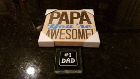 Table Decor for Papa and Dad NEW Stocking Stuffer in Yorkville, Illinois