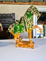 antique hand carved horse in Cherry Point, North Carolina