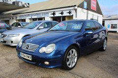 **MERCEDES C320 COUPE PANORAMIC!** in Lakenheath, UK