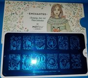MoYou London Enchanted 08 nail stamping plate in St. Charles, Illinois