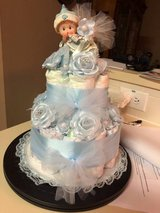 Diaper Cake Gift for Boy in Spring, Texas