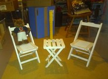 "3-Piece ""Little People"" Folding Table & Chairs in Chicago, Illinois"