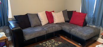 Couch with Chaise in Clarksville, Tennessee